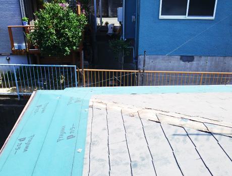 重ね葺き工事の参考プラン