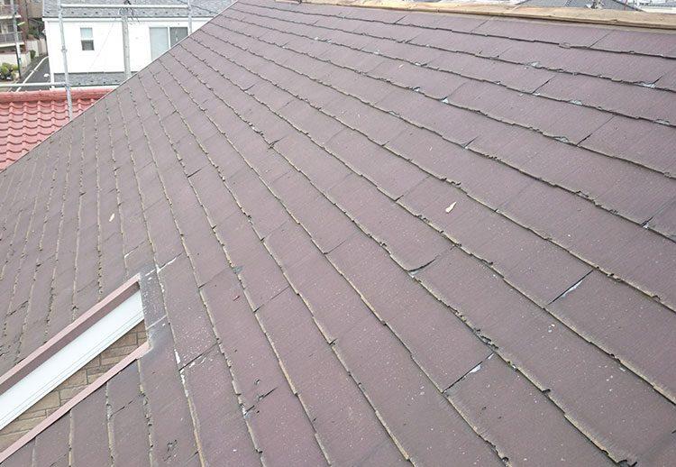 ニチハのパミールで施工された屋根