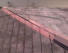 棟板金と貫板の剥がれ