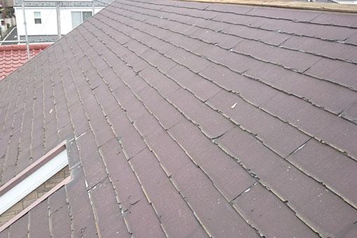 ニチハのパミールで施工された屋根2