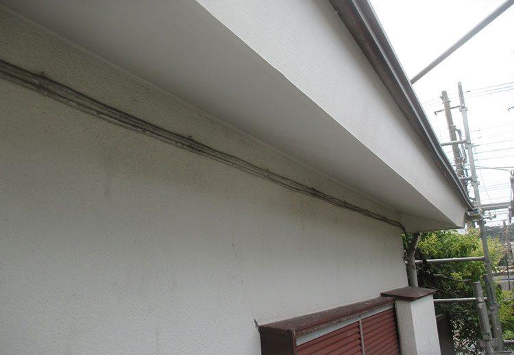 破風、軒天塗装